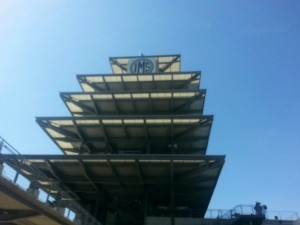The Pagoda at Indianapolis Motor Speedway looks quite worldly.